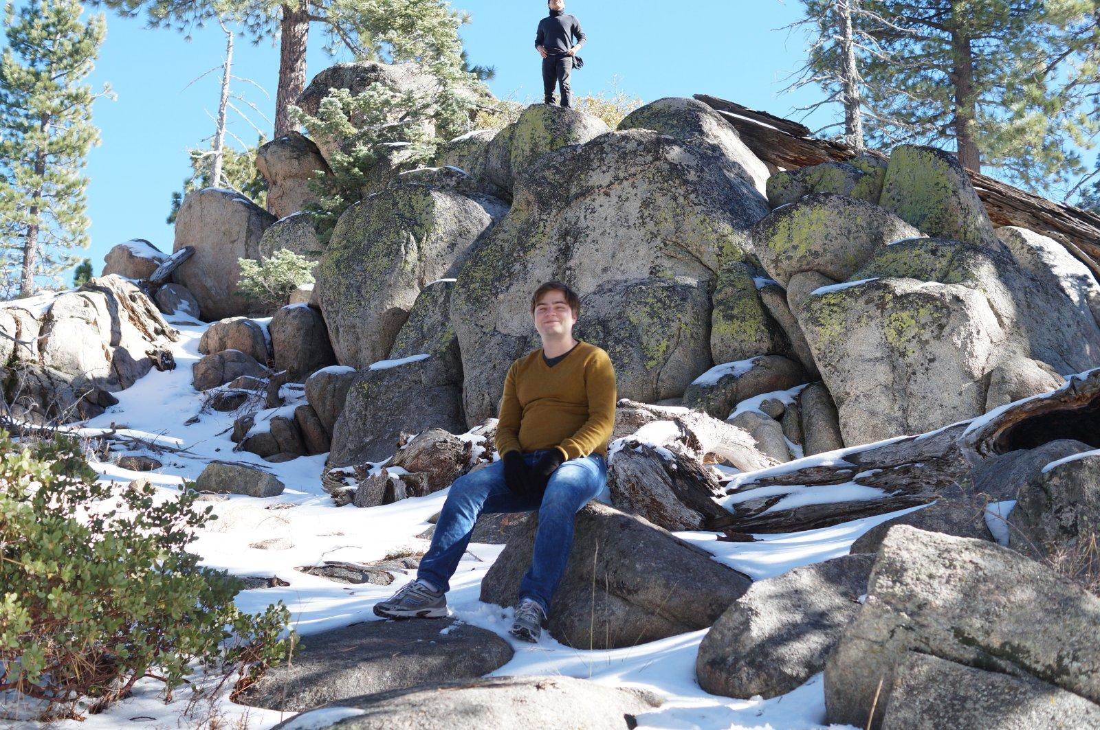Winter at Big Bear Lake