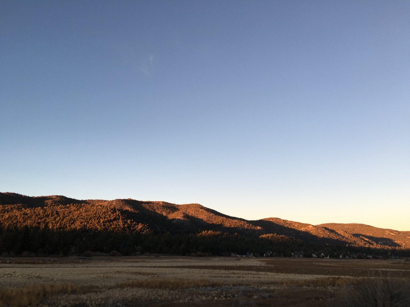 Mountains at Big Bear Lake