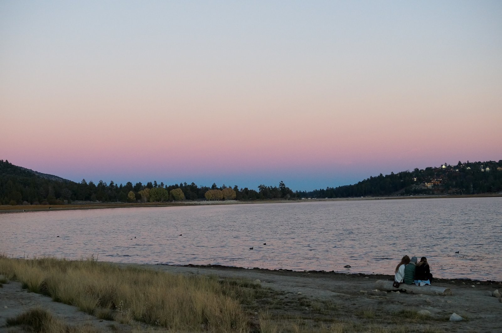 Big Bear Lake Autumn Evening