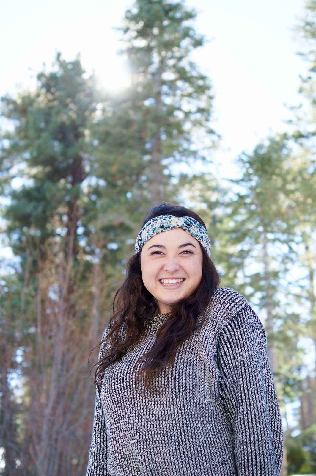 All Smiles at Big Bear Lake