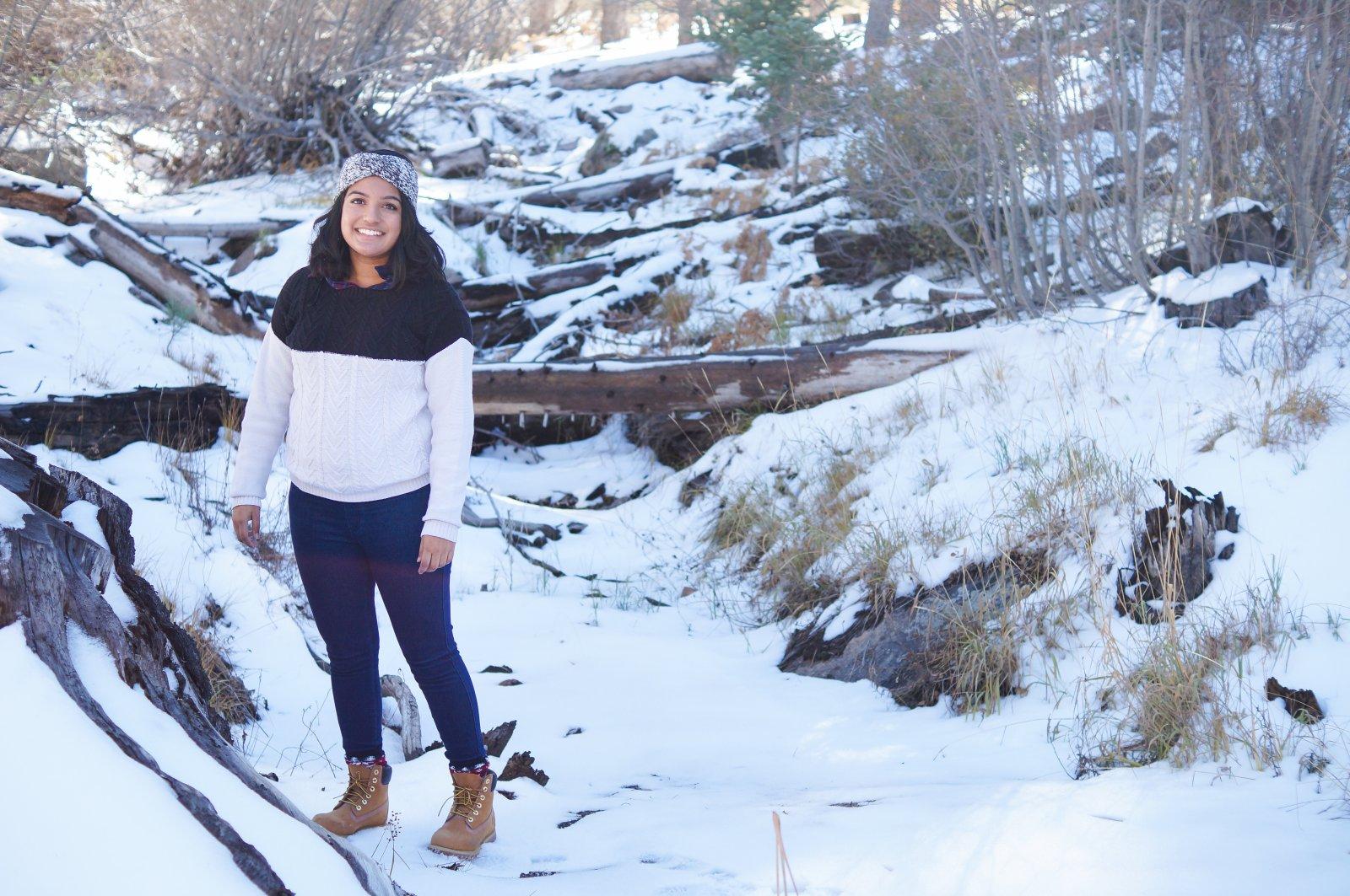 Winter Scenery at Big Bear Lake