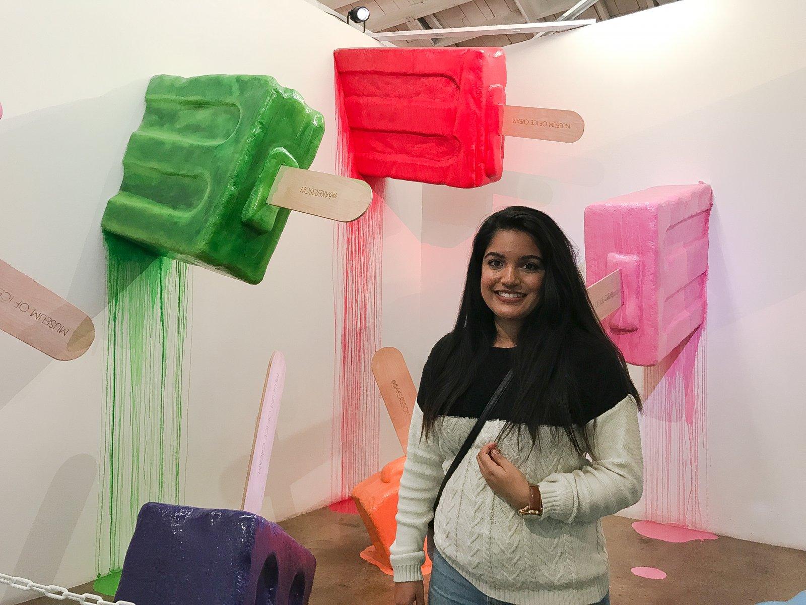 Museum of Ice Cream Giant Popsicles