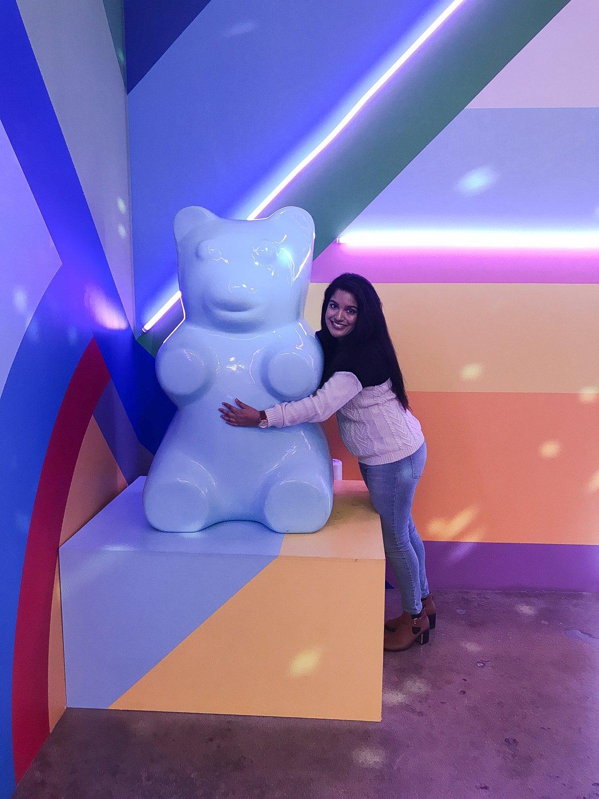 Museum of Ice Cream Giant Gummy Bear