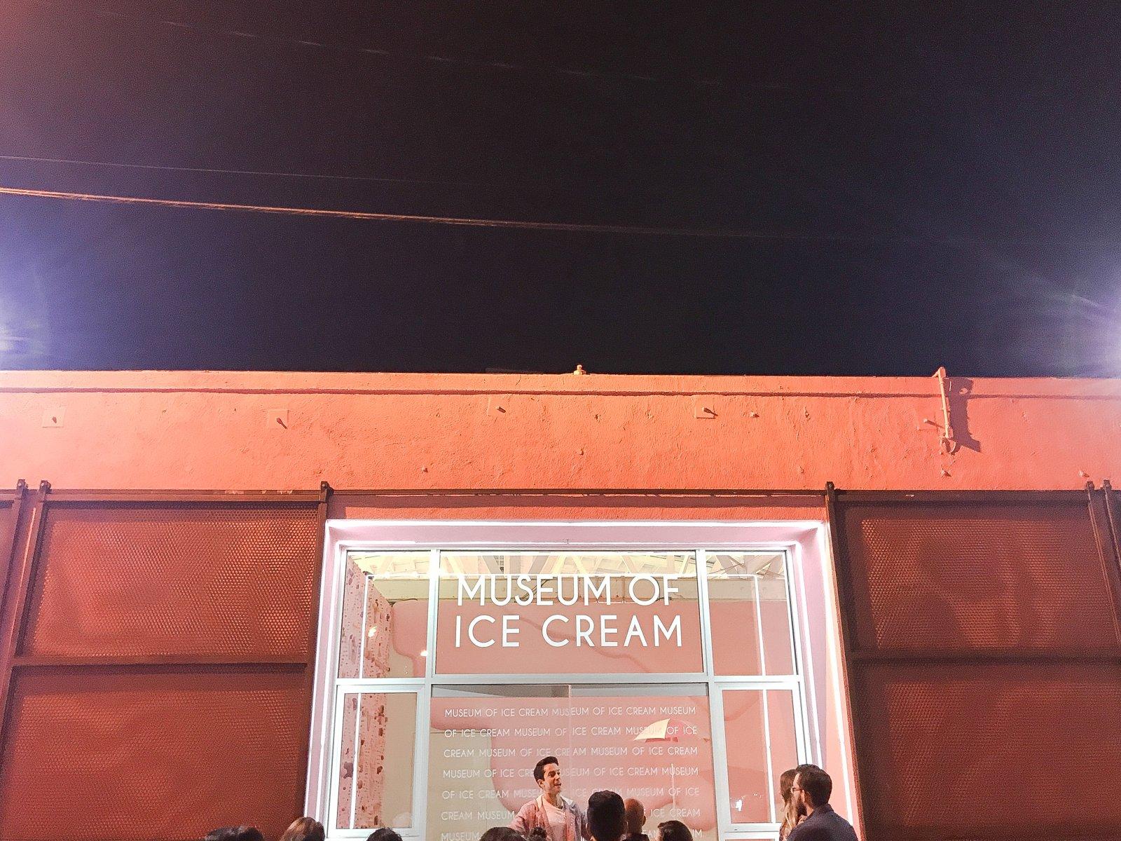 Museum of Ice Cream Los Angeles Entrance