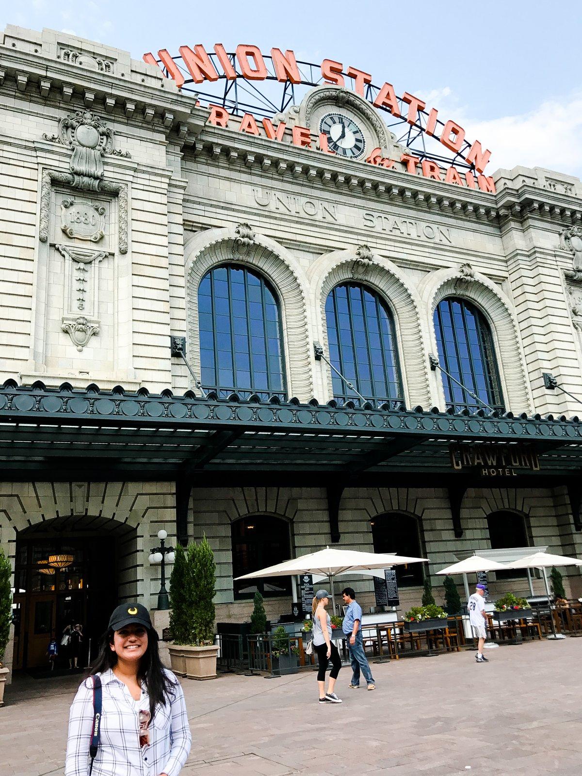 Denver Union Station Front