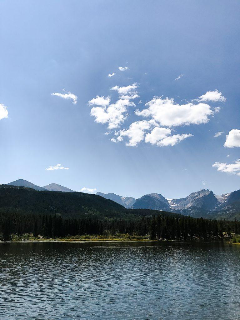 Sprague Lake Mountains