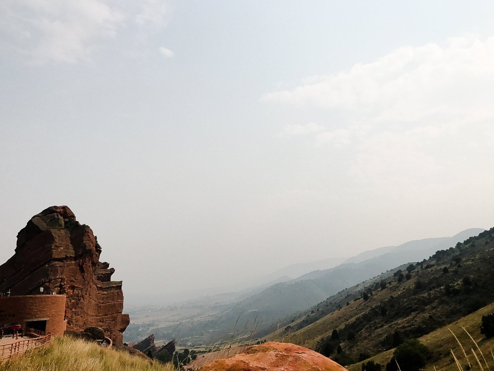 Red Rock Amphitheatre View