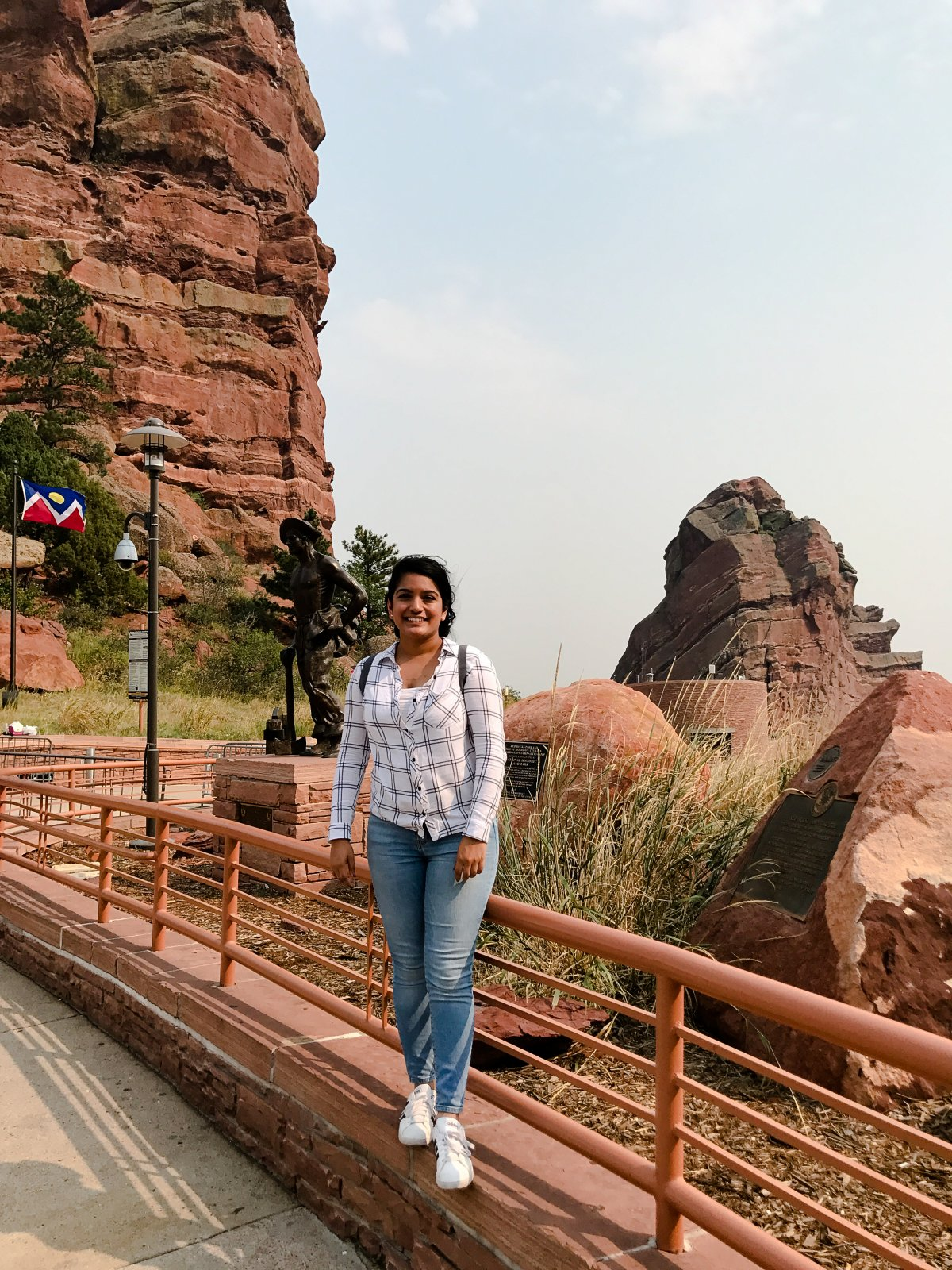 Red Rock Amphitheatre Front