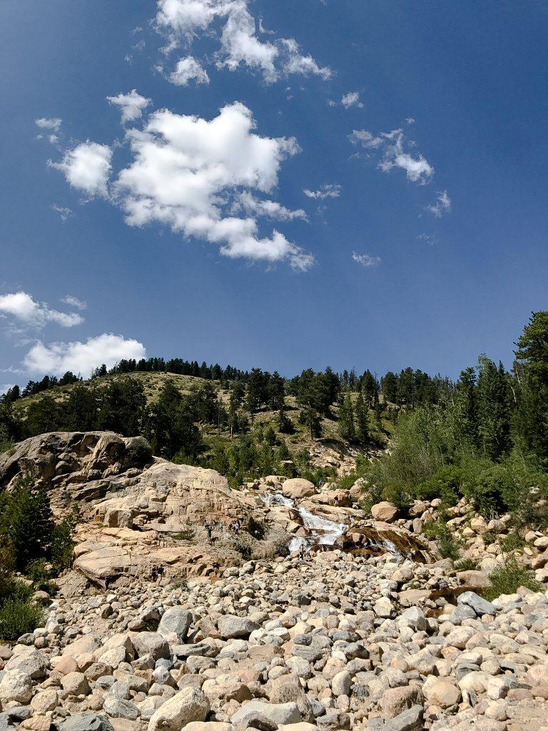 Alluvial Fan Rocky Mountain National Park
