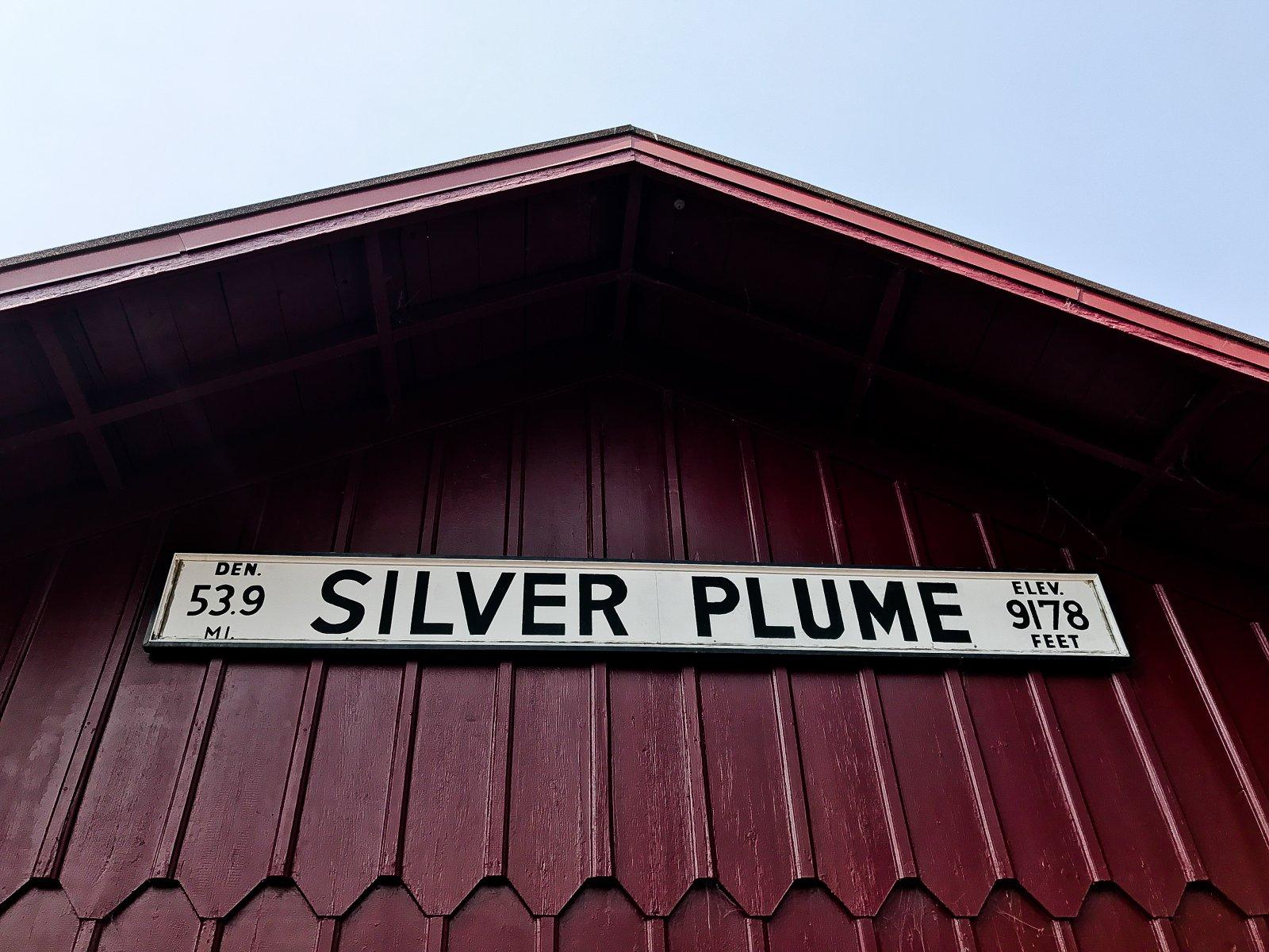 Georgetown Loop Railroad Silver Plume Depot